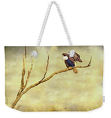 Weekender Tote Bag featuring the photograph American Freedom by James BO Insogna