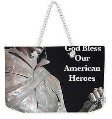 American Hero Weekender Tote Bag by Joan Reese