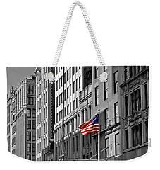 American Iron Worker Weekender Tote Bag