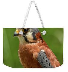 American Kestrel Weekender Tote Bag by Ann Bridges