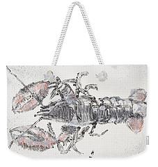 American Lobster, Sea Food Still Life Weekender Tote Bag