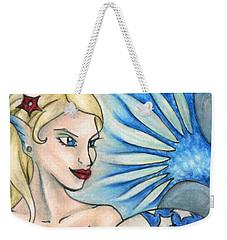 American Mermaid Weekender Tote Bag