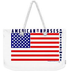 American Nurses Weekender Tote Bag