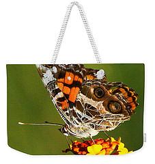 American Painted Lady Weekender Tote Bag