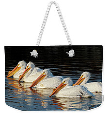 American Pelicans - 01 Weekender Tote Bag