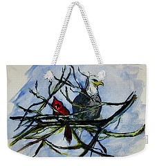 American Picture Weekender Tote Bag by Clyde J Kell