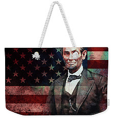 American President Abraham Lincoln 01 Weekender Tote Bag by Gull G