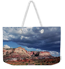 Weekender Tote Bag featuring the photograph American Southwest by Marilyn Hunt