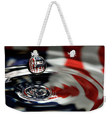 American Water Drop Weekender Tote Bag