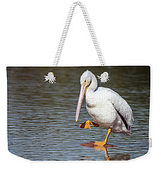 American White Pelican 3318-032918-1cr Weekender Tote Bag