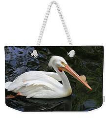 American White Pelican, Florida Weekender Tote Bag