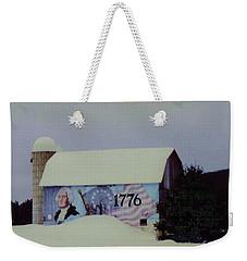 Americana Barn Weekender Tote Bag by Desiree Paquette