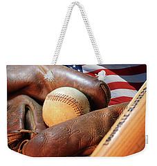 Americas Pastime Weekender Tote Bag