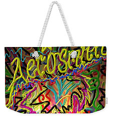 Weekender Tote Bag featuring the painting America's Rock Band by Kevin Caudill