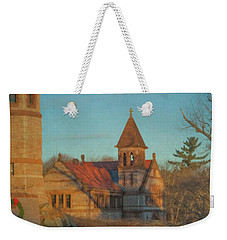 Ames Free Library At Solstice Weekender Tote Bag