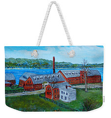 Amesbury Hat Shop Weekender Tote Bag
