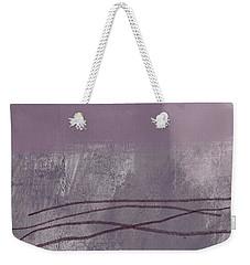 Amethyst 1- Abstract Art By Linda Woods Weekender Tote Bag