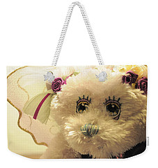Amethyst Fairy Bear Weekender Tote Bag