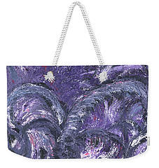 Amethyst Is The Color Of Your Energy Weekender Tote Bag