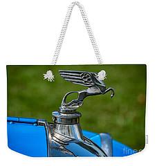 Amilcar Pegasus Emblem Weekender Tote Bag by Adrian Evans