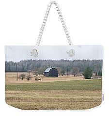 Weekender Tote Bag featuring the photograph Amish Country 0754 by Michael Peychich