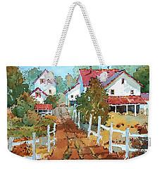 Amish Farm Weekender Tote Bag