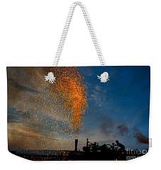 Amish Fireworks Weekender Tote Bag
