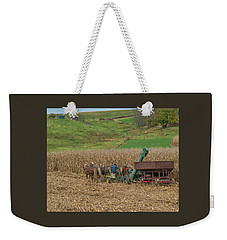 Amish Harvest In Ohio  Weekender Tote Bag