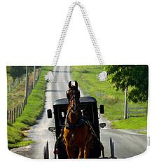 Amish Morning Commute Weekender Tote Bag