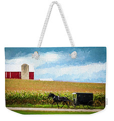 Amish Paradise Weekender Tote Bag