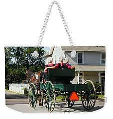 Amish Women Weekender Tote Bag