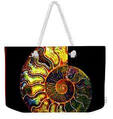 Ammonite Fossil - 8322-3 Weekender Tote Bag
