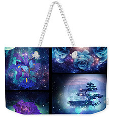 Among The Stars Series Weekender Tote Bag by Mo T