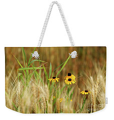 Among The Wheat 1 Weekender Tote Bag by Jimmy Ostgard