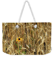 Among The Wheat 2 Weekender Tote Bag by Jimmy Ostgard