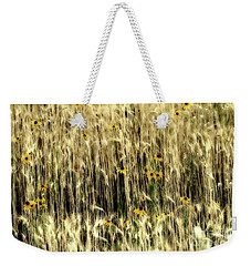 Among The Wheat 3 Weekender Tote Bag by Jimmy Ostgard