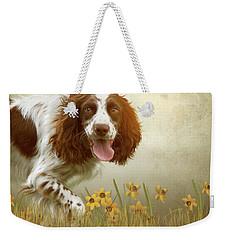Amongst The Flowers Weekender Tote Bag