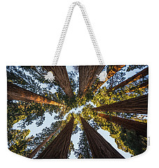 Amongst The Giant Sequoias Weekender Tote Bag by Alpha Wanderlust