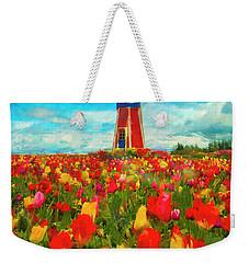 Amongst The Tulips Weekender Tote Bag