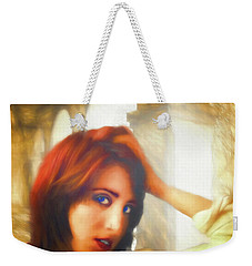 Weekender Tote Bag featuring the photograph Amorous  ... by Chuck Caramella