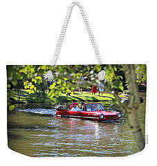 Amphicar Swimming Weekender Tote Bag