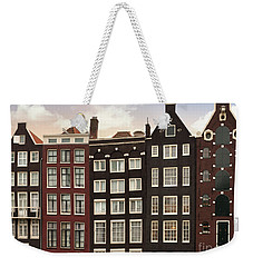 Amsterdam Architectre At Twilight Weekender Tote Bag
