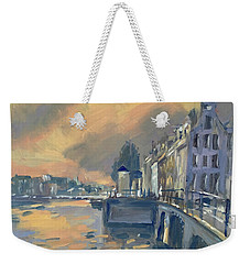 Amsterdm Morning Light Amstel Weekender Tote Bag