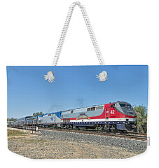 Amtrak 42  Veteran's Special Weekender Tote Bag