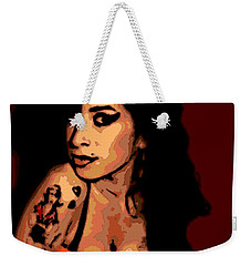 Amy 2 Weekender Tote Bag by George Pedro