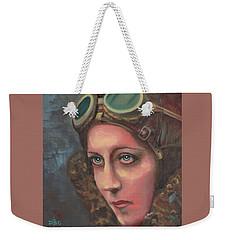 Amy Johnson Weekender Tote Bag