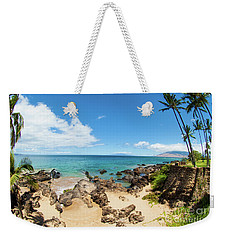 Weekender Tote Bag featuring the photograph Amzing Beach In Hawaii Islands by Micah May