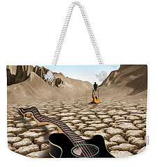 An Acoustic Nightmare 2 Weekender Tote Bag by Mike McGlothlen