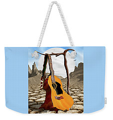 An Acoustic Nightmare Weekender Tote Bag by Mike McGlothlen