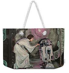An Act Of Rebellion Weekender Tote Bag